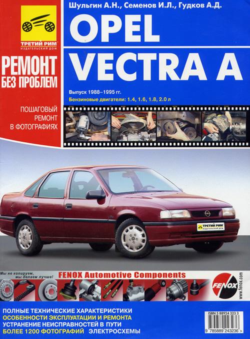 Opel Vectra A 1995 Руководство По Ремонту img-1