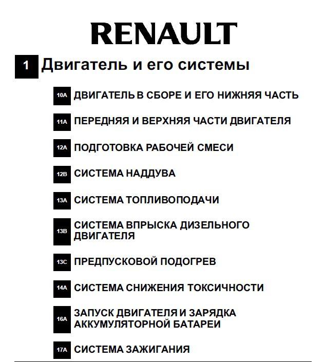 Инструкция по эксплуатации рено сценик