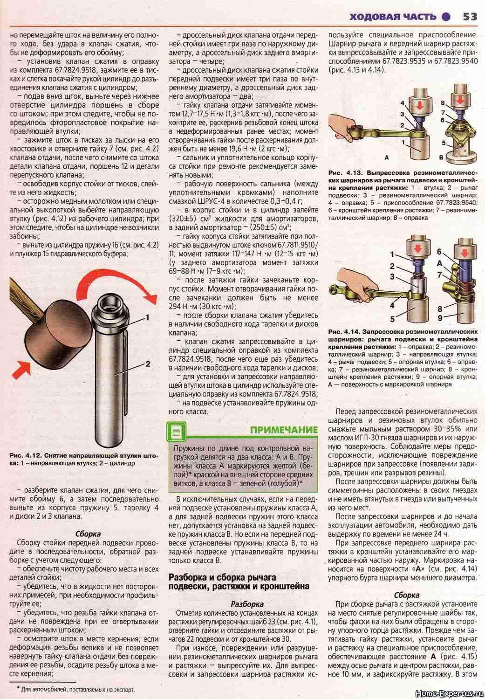 Инструкция по ремонту и эксплуатации ваз 2115