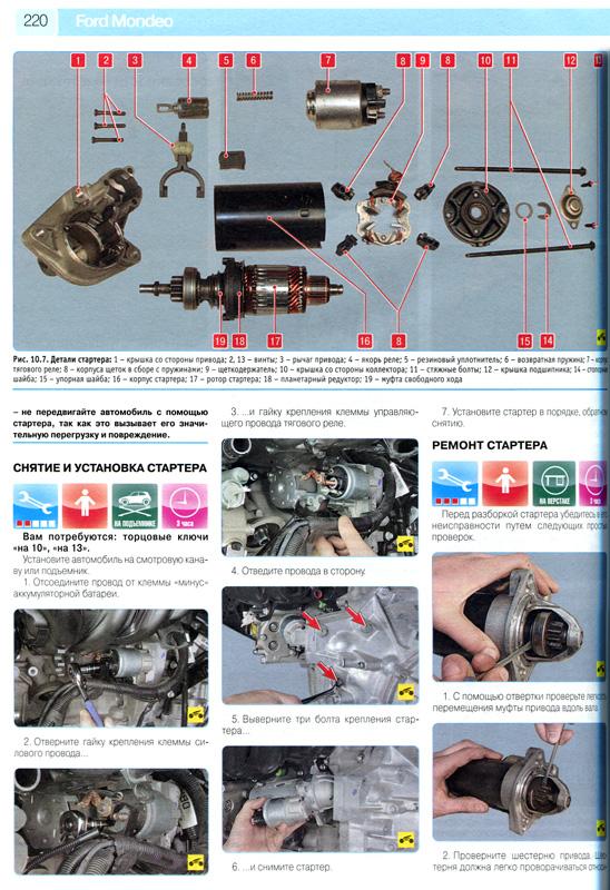 Форд мондео 3 инструкция по ремонту