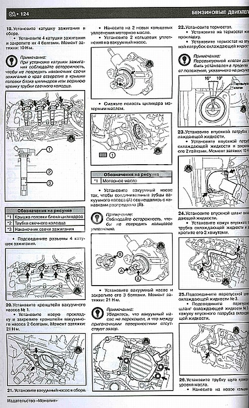 Инструкции по ремонту тойота авенсис