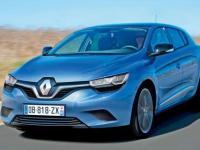 Модель Renault Megane 2014 года