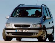 Ремонт и обслуживание автомобиля Opel Zafira