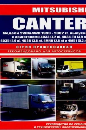 Руководство по ремонту Mitsubishi Canter