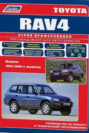 Руководство по эксплуатации Toyota RAV4 с 1996 года