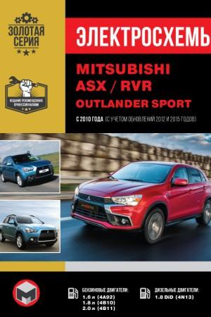 Руководство по ремонту и эксплуатации Mitsubishi ASX