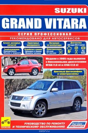 Руководство по эксплуатации Suzuki Grad Vitara