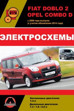 Книга по эксплуатации и обслуживанию Opel Combo