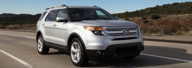 Ford Explorer модель 2012 года