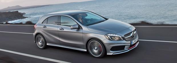 Новый Mercedes A Class 2012