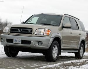 Руководства по ремонту и эксплуатации Toyota Sequoia